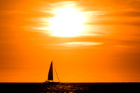 Sail into the evening...